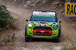 GORBAN Valeriy / KORSIA Volodymyr (BMW-MINI John Cooper Works WRC) during the World Rally Car RACC Catalunya Costa Dourada 2016 / Rally Spain, in Catalunya, Spain. October 15, 2016. (ALTERPHOTOS/Rodrigo Jimenez)