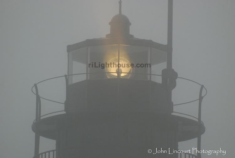 Beavertail Light in the Fog