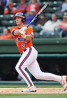 May 11, 2009: Infielder Jason Stolz (2) of the Clemson Tigers in a game against the Furman Paladins at Fluor Field at the West End in Greenville, S.C. Photo by: Tom Priddy/Four Seam Images