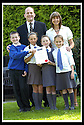 06/09/2007       Copyright Pic: James Stewart.File Name : sp_jspa07_weather_comp.SCOTTISH POWER : ROYAL METEOROLOGICAL SOCIETY : 2007 SCHOOLS WEATHER COMPETITION. .ALAN KELLY OF SCOTTISH POWER AND TEACHER LYNNE MCGUGAN PRESENT THE PUPILS FROM KING'S OAK PRIMARY SCHOOL, GREENOCK, WITH THEIR CERTIFICATE  AFTER THEY WON THE ROYAL METEOROLOGICAL SOCIETY'S, 2007 SCHOOLS WEATHER COMPETITION, SPONSORED BY SCOTTISH POWER... THE PUPILS ARE LtoR KYLE LINDSAY (10), REBECCA KEMP (10), SEONAID MCLAUGHLAN (9),  AND JENNA HOLMES (10).....James Stewart Photo Agency 19 Carronlea Drive, Falkirk. FK2 8DN      Vat Reg No. 607 6932 25.Office     : +44 (0)1324 570906     .Mobile   : +44 (0)7721 416997.Fax         : +44 (0)1324 570906.E-mail  :  jim@jspa.co.uk.If you require further information then contact Jim Stewart on any of the numbers above........