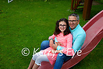 Isabella Donoghue with her dad Joey.