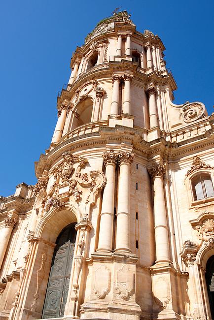 Baroque Church of St George designed by Gagliardi 1702 , Modica, Sicily
