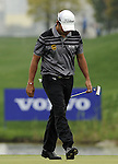 SUZHOU, CHINA - APRIL 18:  Pablo Larrazabal of Spain looks down on the 6th green during the Round Four of the Volvo China Open on April 18, 2010 in Suzhou, China. Photo by Victor Fraile / The Power of Sport Images