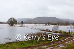 Fields of Glenflesk flooded on Tuesday morning after a night of torrential rain