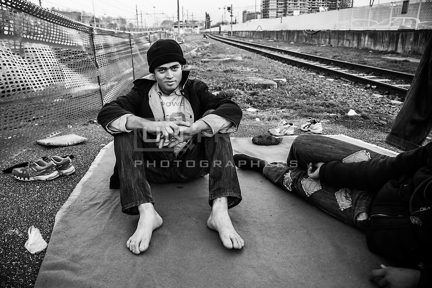 """Aamir at the dismissed track n. 15. <br /> He compares himself to Marco Polo: both started traveling through Asia at 16, even though in opposite directions. He states he read """"Il Milione"""" . Also, he's fluent in almost 4 languages and reads many literature classics in spite the desperate conditions he's called to face everyday."""