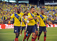 East Rutherford, NJ. -June 12, 2016: during Copa America Centenario Group B match between Ecuador (ECU) and Haiti (HAI) at MetLife Stadium.