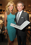 Chair Jana Arnoldy with the Chronicle's Jeff Cohen at the annual Houston Chronicle's Best Dressed Luncheon at the Westin Galleria Hotel Tuesday April 3, 2013.(Dave Rossman photo)