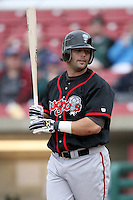 April 29, 2009: Brian Van Kirk (44) of the Lansing Lugnuts at Elfstrom Stadium in Geneva, IL.  Photo by: Chris Proctor/Four Seam Images