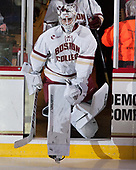 Ian Milosz (BC - 29) - The Boston College Eagles defeated the visiting Providence College Friars 3-1 on Friday, October 28, 2016, at Kelley Rink in Conte Forum in Chestnut Hill, Massachusetts.The Boston College Eagles defeated the visiting Providence College Friars 3-1 on Friday, October 28, 2016, at Kelley Rink in Conte Forum in Chestnut Hill, Massachusetts.