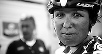 77th Flèche Wallonne 2013..Marijn de Vries (NLD) post-race
