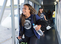 USWNT Travel, August 7, 2016