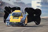 NHRA Mello Yello Drag Racing Series<br /> AAA Texas NHRA FallNationals<br /> Texas Motorplex<br /> Ennis, TX USA<br /> Sunday 15 October 2017 J.R. Todd, DHL, funny car, Toyota, Camry<br /> <br /> World Copyright: Mark Rebilas<br /> Rebilas Photo