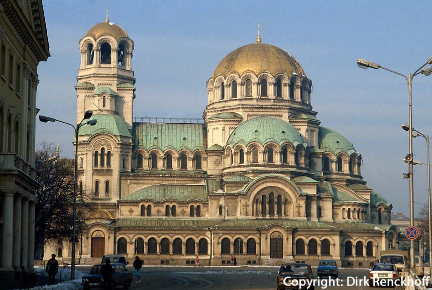 Bulgarien, Sofia, Alexander-Nevski-Kathedrale