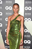 LONDON, UK. September 03, 2019: Adwoa Aboah arriving for the GQ Men of the Year Awards 2019 in association with Hugo Boss at the Tate Modern, London.<br /> Picture: Steve Vas/Featureflash
