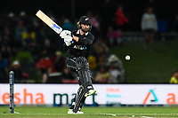 23rd March 2021; Christchurch, New Zealand;  Devon Conway of the Black Caps during the 2nd ODI cricket match, Black Caps versus Bangladesh, Hagley Oval, Christchurch, New Zealand.