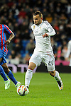 Real Madrid´s Jese Rodriguez during 2014-15 La Liga match between Real Madrid and Levante UD at Santiago Bernabeu stadium in Madrid, Spain. March 15, 2015. (ALTERPHOTOS/Luis Fernandez)