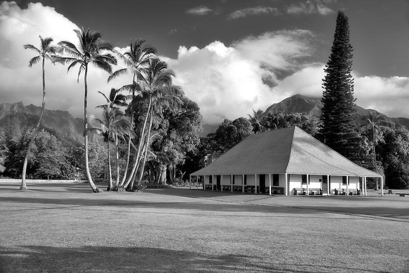 Waioli Mission Hall. Hanalei, Kauai, Hawaii