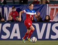 Rochester, NY - September 18, 2014: The USWNT defeated Mexico 4-0 during an international friendly at Sahlen's Stadium.