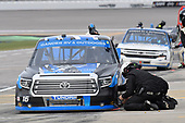 #16: Austin Hill, Hattori Racing Enterprises, Toyota Tundra Toyota Tsusho