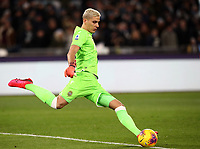 Football, Serie A: S.S. Lazio - Hellas Verona, Olympic stadium, Rome, February 5, 2020. <br /> Hellas Verona' goalkeeper Marco Silvestri in action during the Italian Serie A football match between S.S. Lazio and Hellas Verona at Rome's Olympic stadium, Rome, on February 5, 2020. <br /> UPDATE IMAGES PRESS/Isabella Bonotto