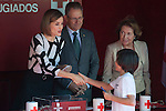 Queen Letizia of Spain attends the Red Cross Fundraising day event (Dia de la Banderita) in Madrid, Spain. October 02, 2015. (ALTERPHOTOS/Victor Blanco)