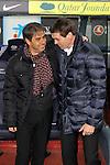 Natxo Gonzalez & Tito Vilanova. FC Barcelona vs Alaves: 3-1 - Copa del Rey 2012/13 - 1/16 vuelta.