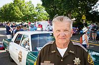 C.W. Wolf, King County Sheriff Department, Auburn Days Parade 2017, Auburn, WA, USA.