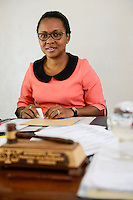 MADAGASCAR, Mananjary, court , judge / MADAGASKAR, Mananjary, Amtsgericht, Mme. ELYSÉE RASOAHANTA, Procureur de la Republique, STAATSANWÄLTIN