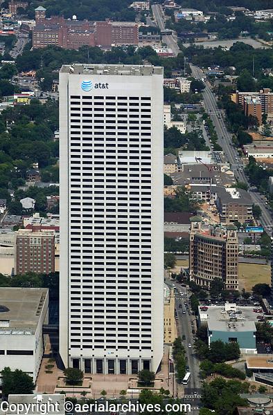aerial photograph of AT&T Midtown Center, Atlanta, Georgia