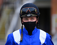 Jockey Jason Watson during Horse Racing at Salisbury Racecourse on 11th September 2020