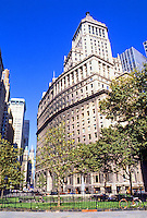 New York: 26 Broadway, Carrere & Hastings, 1922. The tower is part of the building.