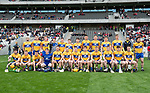 The Clare team which played Cork in the Munster Senior game at Pairc Ui Chaoimh. Photograph by John Kelly.