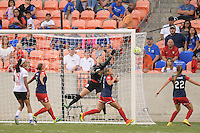 Houston, TX - Sunday Oct. 09, 2016: Kelsey Wys during the National Women's Soccer League (NWSL) Championship match between the Washington Spirit and the Western New York Flash at BBVA Compass Stadium.