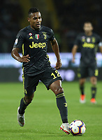 Calcio, Serie A: Frosinone-Juventus, Benito Stirpe stadium, Frosinone, September 23, 2018. <br /> Juventus' Alex Sandro in action during the Italian Serie A football match between Frosinone and Juventus at Frosinone stadium on September 23, 2018.<br /> UPDATE IMAGES PRESS/Isabella Bonotto