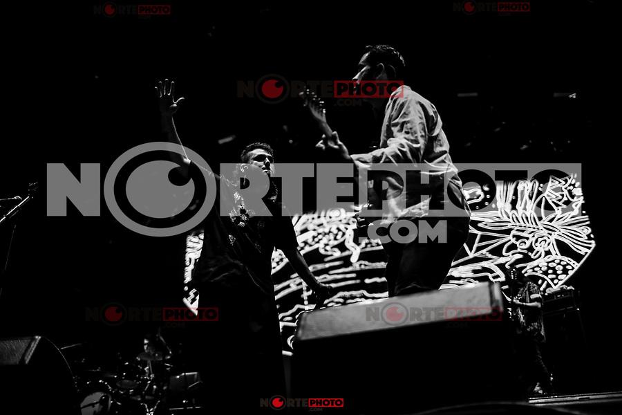 Porter, durante su concierto en el festival Tecate Sonoro. 28 octubre 2017. (Foto: Luis Gutierrez /NortePhoto.com)