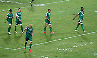 PEREIRA - COLOMBIA, 29-04-2021: Carlos Rodriguez de La Equidad (COL), corre a celebrar el segundo gol anotado a Aragua F. C. (VEN), durante partido entre La Equidad (COL) y Aragua F. C. (VEN) por la Copa CONMEBOL Sudamericana 2021 en el Estadio Hernan Ramirez Villegas de la ciudad de Pereira. / Carlos Rodriguez of La Equidad (COL), runs to celebrate the second scored goal to Aragua F. C. (VEN), during a match beween La Equidad (COL) and Aragua F. C. (VEN) for the CONMEBOL Sudamericana Cup 2021 at the Hernan Ramirez Villegas Stadium, in Pereira city.  Photo: VizzorImage / Pablo Bohorquez / Cont.