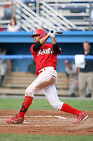 August 3rd 2008:  Frederick Parejo of the Batavia Muckdogs, Class-A affiliate of the St. Louis Cardinals, during a game at Dwyer Stadium in Batavia, NY.  Photo by:  Mike Janes/Four Seam Images