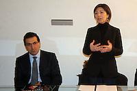 Intervento della Dott.ssa Roberta Agostini - Consigliere Provinciale, Presidente Commissione delle Elette durante la lezione del Prof. Francesco Scarnati su Le donne nella tragedia greca.
