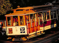 cable car San Francisco CA. San Francisco California United States.