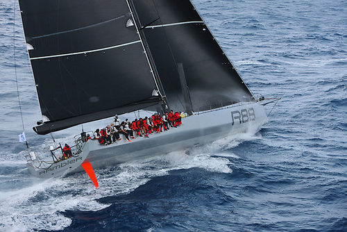 eorge David's all-conquering Rambler 88 set the current mono-hull record in the 2016 Round Ireland Race