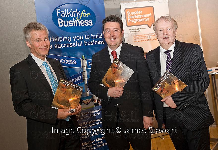 Falkirk Business Exhibition 2011.