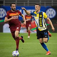 inter-roma - milano 12 maggio 2021 - 36° giornata Campionato Serie A - nella foto: perisic e cristante