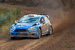 Mads Østberg/Ola Fløene (Ford Fiesta RS WRC) during the World Rally Car RACC Catalunya Costa Dourada 2016 / Rally Spain, in Catalunya, Spain. October 15, 2016. (ALTERPHOTOS/Rodrigo Jimenez)