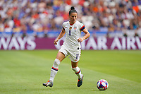LYON, FRANCE - JULY 07: Ali Krieger #11 during the 2019 FIFA Women's World Cup France final match between the Netherlands and the United States at Stade de Lyon on July 07, 2019 in Lyon, France.