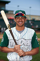 Fort Wayne TinCaps Fernando Tatis Jr. (23) poses for a photo after a game against the Wisconsin Timber Rattlers on May 10, 2017 at Parkview Field in Fort Wayne, Indiana.  Fort Wayne defeated Wisconsin 3-2.  (Mike Janes/Four Seam Images)
