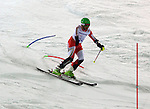 13/03/2014. Canadian Kirk Schornstein competes in the men's standing slalom event at the Sochi 2014 Paralympic Winter Games in Sochi Russia. (Photo Scott Grant/Canadian Paralympic Committee)