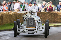 General view of a Daimler car during a hill climb at Goodwood Festival of Speed 2016 at Goodwood, Chichester, England on 24 June 2016. Photo by David Horn / PRiME Media Images