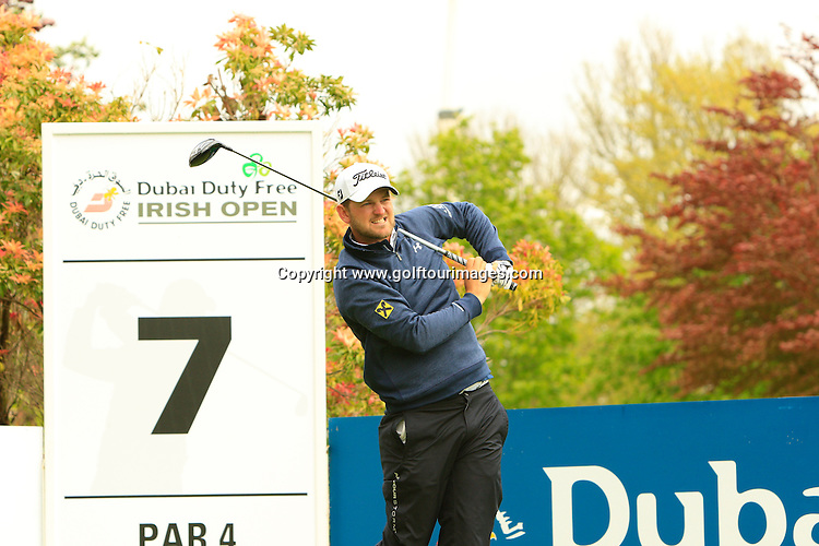 Bernd WIESBERGER (AUT)  during round one of the 2016 Dubai Duty Free Irish Open hosted by The Rory Foundation and played at The K-Club, Straffan, Ireland. Picture Stuart Adams, www.golftourimages.com: 19/05/2016
