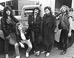 Black Sabbath 1985 Dave Spitz, Eric Singer, Tony Iommi, Glenn Hughes, Geoff Nicholls.© Chris Walter..
