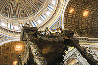 St-Peter's,  Rome, Italy.